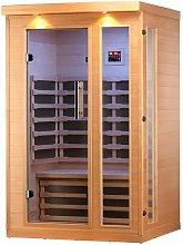 Huron 2 Person FAR Sauna with Heater Canadian Spa