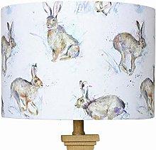 Hurtling Hare Voyage Lampshade (25 cm Diameter x