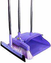 HUSDCX Broom Scrub Brush Broom Cleaning Kit Stand