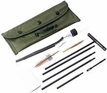 HUSHUI 11 pcs/set Rifle Gun Cleaning Kit Set