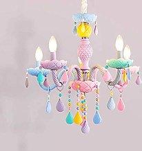 Hushuigeeedd Chandeliers, Elegant Colorful