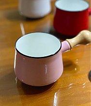HUSHUN Mini Chocolate Milk Pan Non-Stick Small