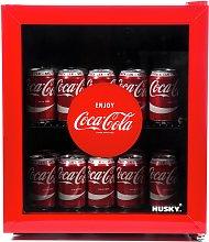 Husky Coca-Cola 48 Litre Drinks Cooler - Red