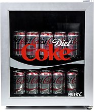 Husky Diet Coke 48 Litre Drinks Cooler - Silver