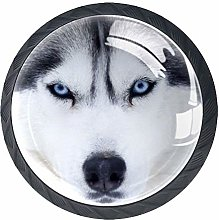 Husky Dog Cabinet Door Knobs Handles Pulls