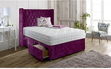 Hutchins Upholstered Divan Bed and Headboard