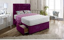 Hutchison Upholstered Divan Bed and Headboard