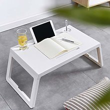 Hutcuo Laptop Bed Table Lap Standing Desk for Bed