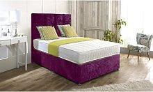 Hutson Upholstered Divan Bed and Headboard Rosdorf