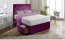 Hutton Upholstered Divan Bed and Headboard Rosdorf