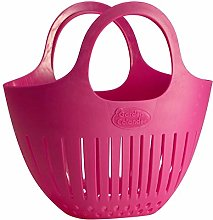 Hutzler Mini Garden Colander, Pink