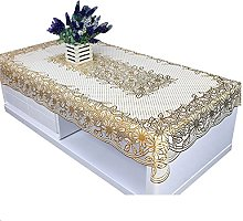 HVKLHNF Pastoral Lace Disposable Coffee Table