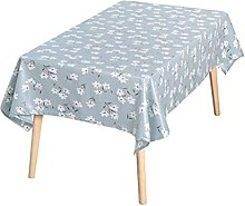 HVKLHNF Table Cloth Fabric Waterproof, Oil-Proof,