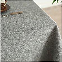 HVKLHNF Tablecloth Cotton Linen Cloth Art Linen