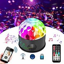 HVTKL Colorful 9W Sound Activated USB LED Crystal