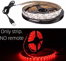 HVTKL USB LED Strip DC 5V Flexible Light Lamp