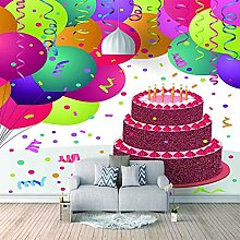 HWCUHL 3D Wall Stickers Mural Color Christmas