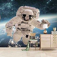 HWCUHL Wall Mural Wallpaper Space Astronaut
