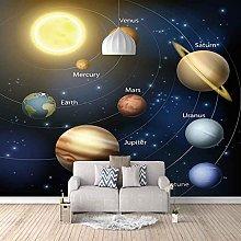 HWCUHL Wall Mural Wallpaper Space Universe Planet