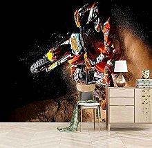 HWCUHL Wall Mural Wallpaper Super Motorcyclist