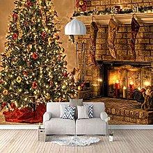 HWCUHL Wall Sticker 300X220Cm Christmas Background