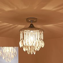 HWCX-LICHT Beautiful Crystal Ceiling Lamp Round