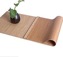 HWF Non-Slip Bamboo Tea Mat, Vintage Japanese