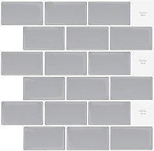 HWSYBTZJM 5 Sheets Peel and Stick Wall Tiles