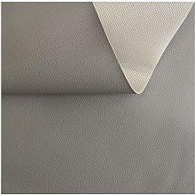 HWT-YB Light Grey Faux Leather Fabric Vinyl
