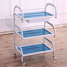 HXCD 3 Shelf Large Beauty Salon Trolley Cart Spa