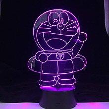 HXFGL 3D Night Light LED Cartoon Illusion