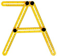 HXiaoF 1Pcs Professional Template Tool Angle Ruler