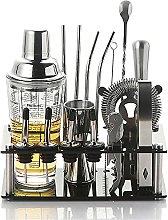 HXIYANG Transparent Glass Shaker Set,Shaker Set