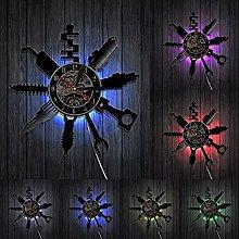 hxjie Decorative wall clock for auto repair shop,