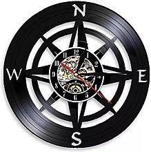 hxjie Rose compass wall art modern design navy
