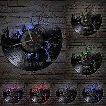 hxjie Valentine's day real vinyl wall clock,
