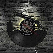hxjie Vinyl wall clock for swimming pool home