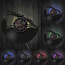 hxjie Vinyl Wall Clock for Swimming Pool  