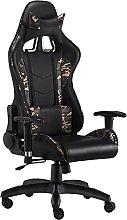 HXJU Game Chair Office Chair, Ergonomic High-back