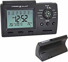 HXZB Azan Table Clock, Digital Muslim Prayer Alarm
