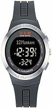 HXZB Muslim Azan Wrist Watch, Classic Digital