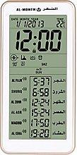 HXZB Muslim Praying Azan Table Clock, Digital Azan