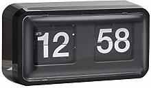 HXZB Retro Cat's Eye Auto Flip Clock, Wall