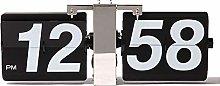 HXZB Retro Mechanical Automatic Flip Clock,