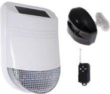HY Outdoor Solar Wireless Siren Alarm Kit 1