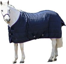 Hy Signature Horse Stable Rug (7´) (Navy/Red/Blue)
