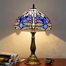 HY-WWK 12-Inch Table Lamp Colorful Glass Table