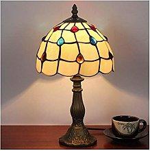 HY-WWK 8Inch Living Desk Lamp,Handmade Table