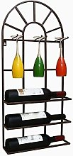 HY-WWK Home Wall Hanging Wine Rack, Bar Counter