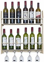 HY-WWK Nordic Wall Wine Cabinet Simple Wall